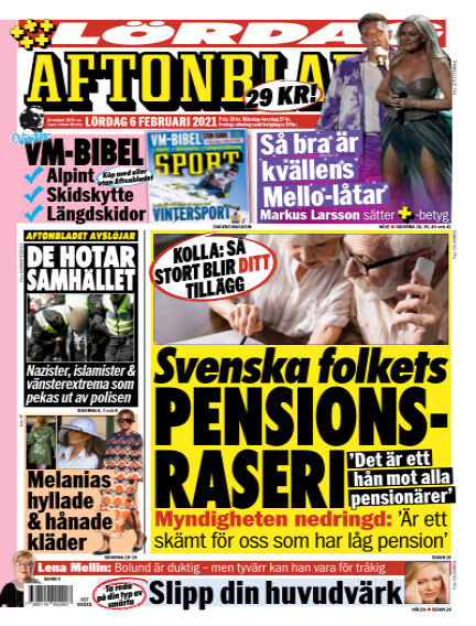 Aftonbladet February 06, 2021 00:00