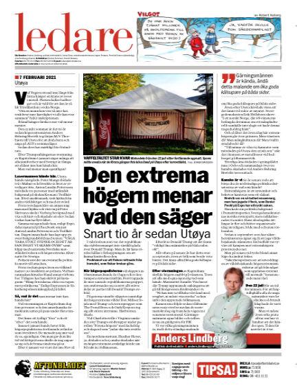 Aftonbladet February 07, 2021 00:00