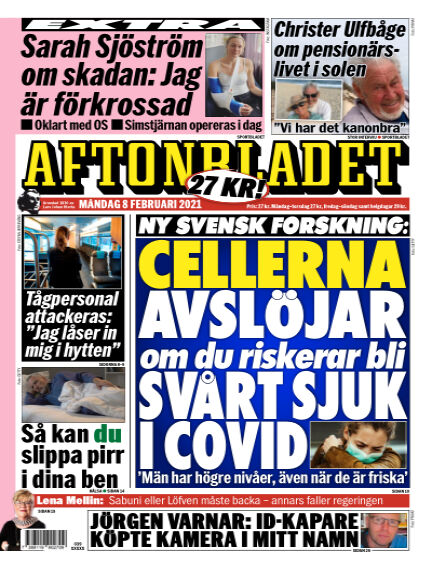 Aftonbladet February 08, 2021 00:00