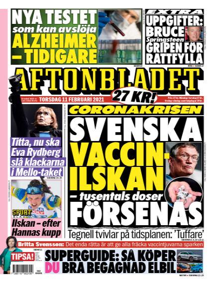 Aftonbladet February 11, 2021 00:00