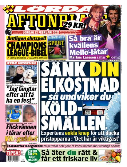 Aftonbladet February 13, 2021 00:00