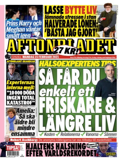 Aftonbladet February 15, 2021 00:00