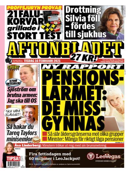 Aftonbladet February 16, 2021 00:00