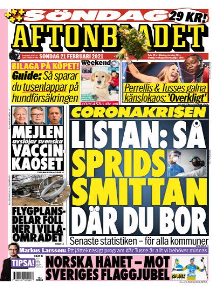 Aftonbladet February 21, 2021 00:00