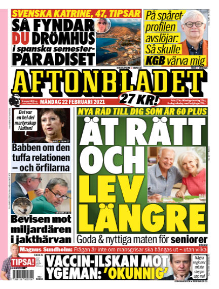 Aftonbladet February 22, 2021 00:00