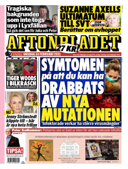 Aftonbladet February 24, 2021 00:00