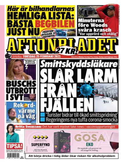 Aftonbladet February 25, 2021 00:00