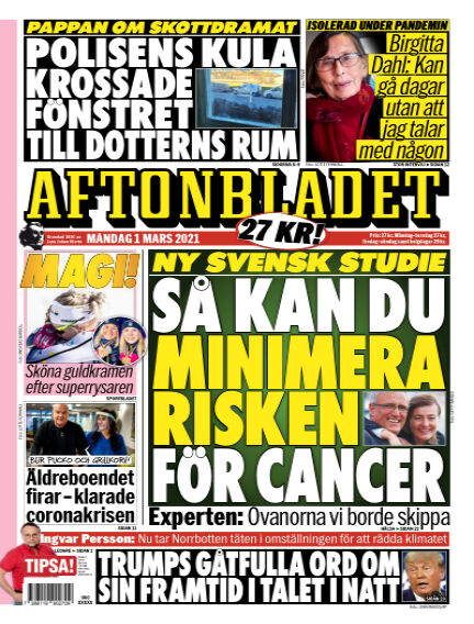 Aftonbladet March 01, 2021 00:00