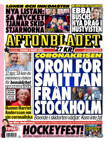 Aftonbladet March 02, 2021 00:00