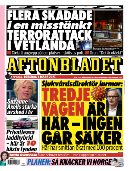 Aftonbladet March 04, 2021 00:00