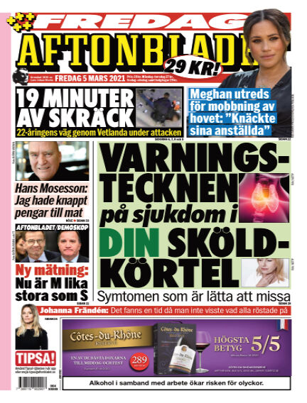 Aftonbladet March 05, 2021 00:00