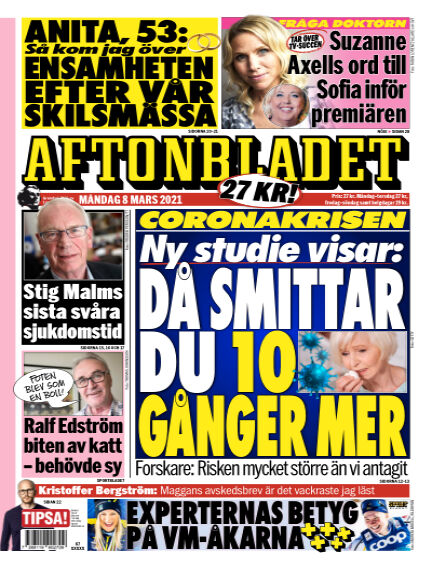 Aftonbladet March 08, 2021 00:00
