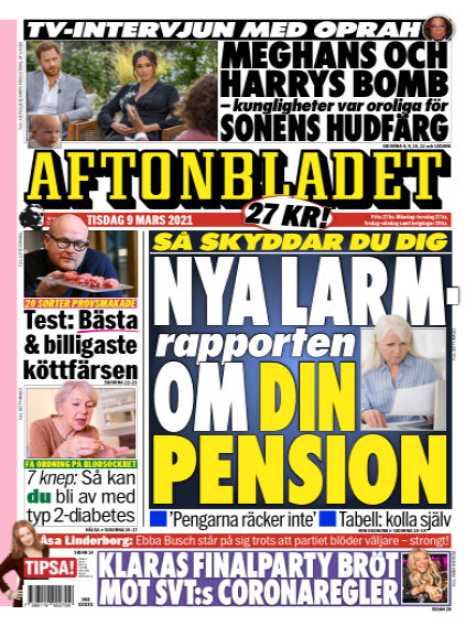 Aftonbladet March 09, 2021 00:00