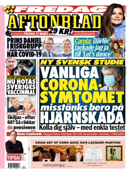 Aftonbladet March 12, 2021 00:00