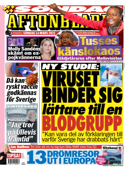 Aftonbladet March 14, 2021 00:00
