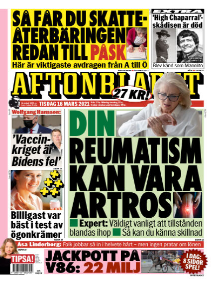 Aftonbladet March 16, 2021 00:00