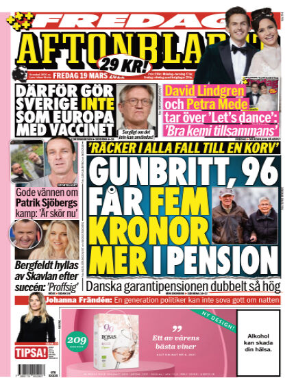 Aftonbladet March 19, 2021 00:00
