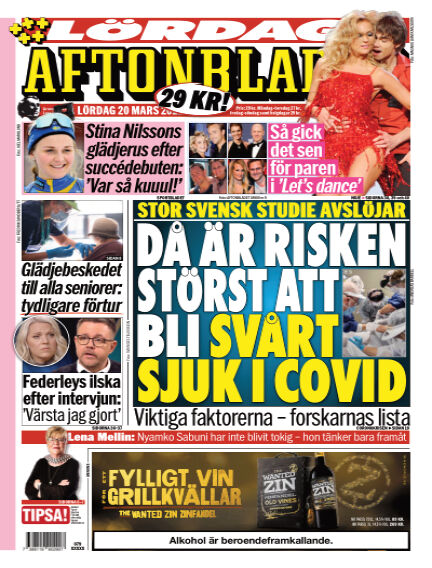 Aftonbladet March 20, 2021 00:00
