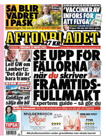 Aftonbladet March 25, 2021 00:00