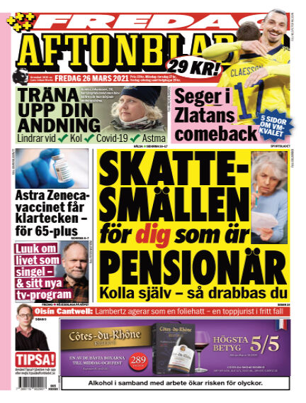 Aftonbladet March 26, 2021 00:00