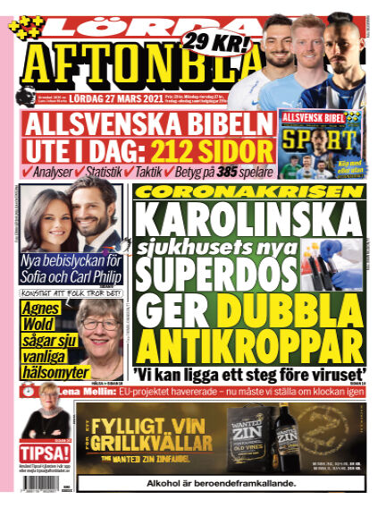 Aftonbladet March 27, 2021 00:00