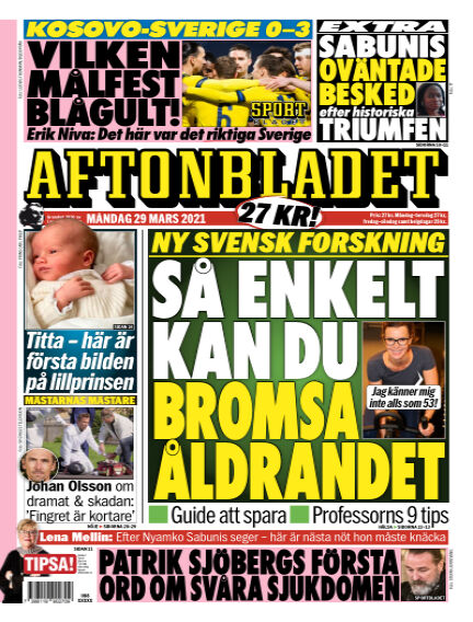 Aftonbladet March 29, 2021 00:00