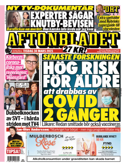 Aftonbladet March 30, 2021 00:00