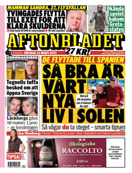 Aftonbladet March 31, 2021 00:00