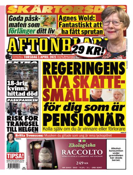 Aftonbladet April 01, 2021 00:00