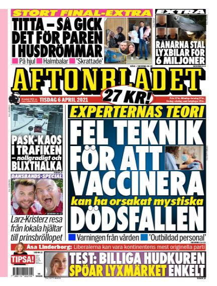 Aftonbladet April 06, 2021 00:00