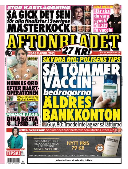 Aftonbladet April 08, 2021 00:00