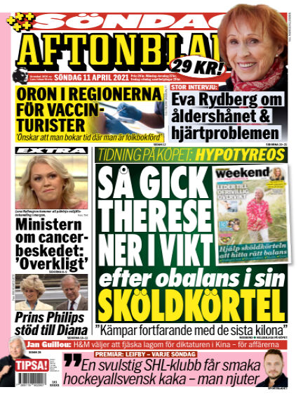 Aftonbladet April 11, 2021 00:00