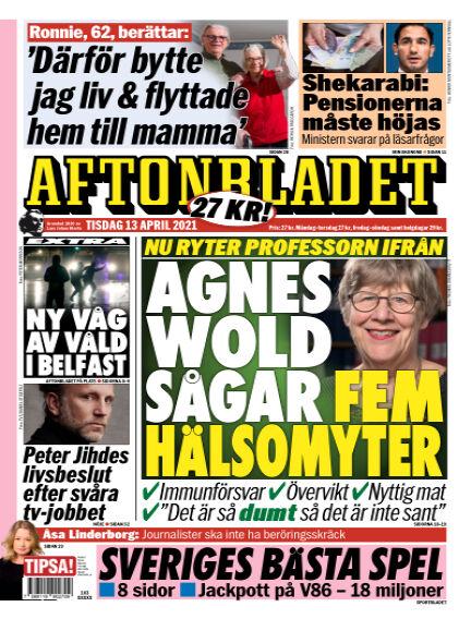 Aftonbladet April 13, 2021 00:00