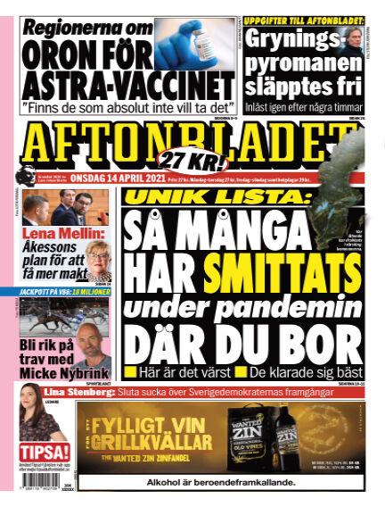 Aftonbladet April 14, 2021 00:00