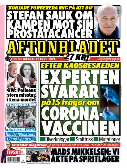 Aftonbladet April 19, 2021 00:00