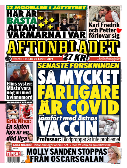 Aftonbladet April 20, 2021 00:00