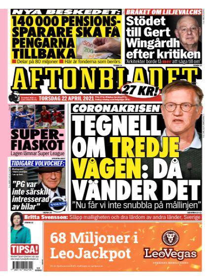 Aftonbladet April 22, 2021 00:00