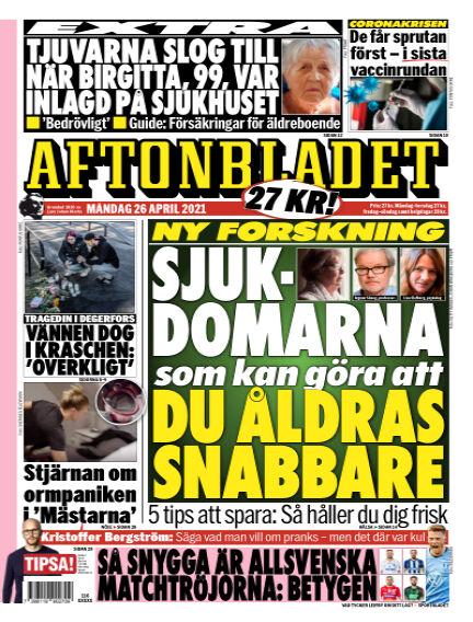 Aftonbladet April 26, 2021 00:00
