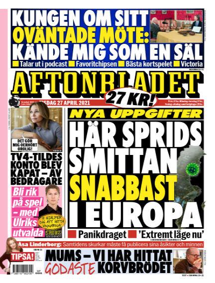 Aftonbladet April 27, 2021 00:00