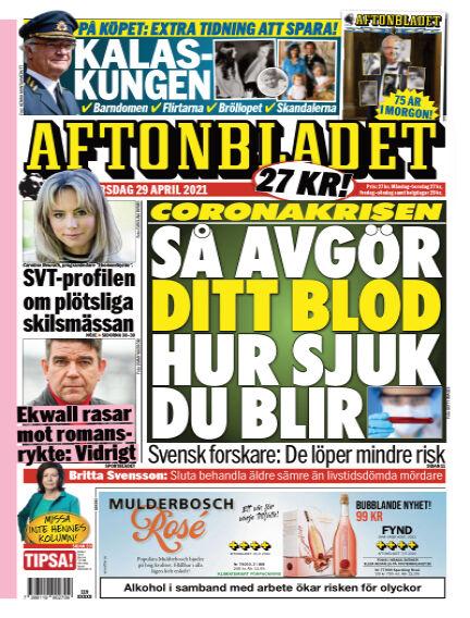Aftonbladet April 29, 2021 00:00