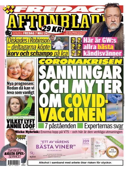 Aftonbladet May 07, 2021 00:00
