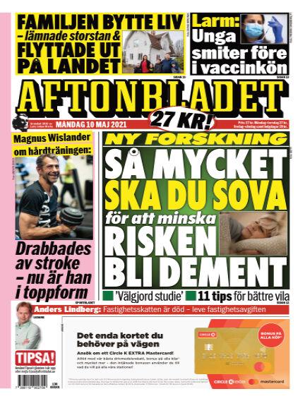 Aftonbladet May 10, 2021 00:00