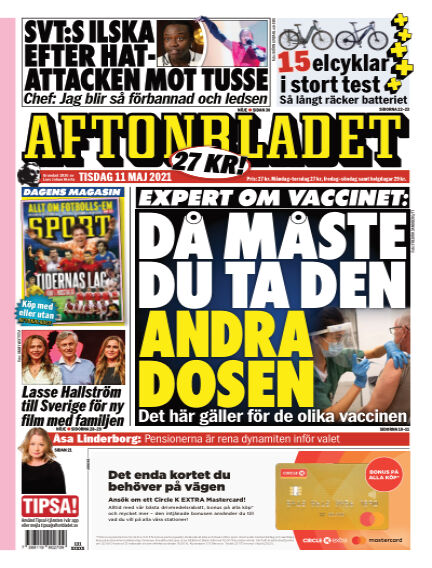 Aftonbladet May 11, 2021 00:00