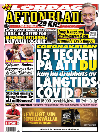 Aftonbladet May 15, 2021 00:00