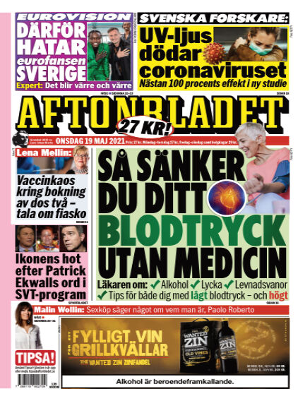 Aftonbladet May 19, 2021 00:00