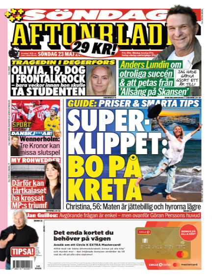 Aftonbladet May 23, 2021 00:00