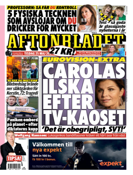 Aftonbladet May 25, 2021 00:00