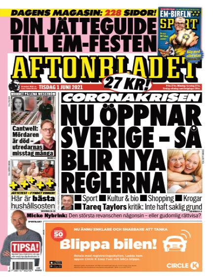 Aftonbladet June 01, 2021 00:00