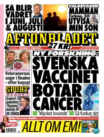 Aftonbladet June 02, 2021 00:00