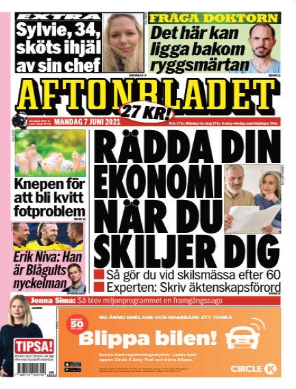 Aftonbladet June 07, 2021 00:00